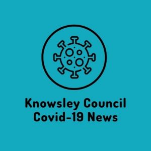 Knowsley Council Covid 19 news and updates button
